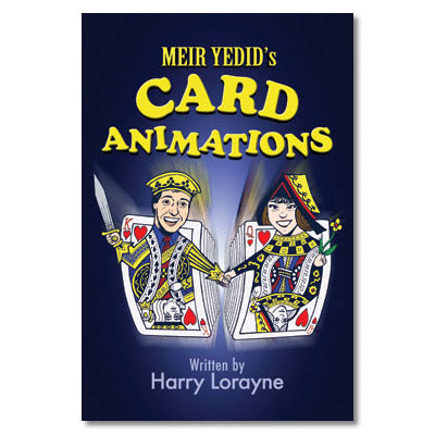 Meir Yedid's Card Animations by Harry Lorayne - Book - Got Magic?