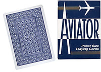 Cards Aviator Jumbo Index Poker Size (Blue) - Got Magic?