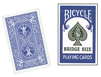 Cards Bicycle Bridge (Blue) - Got Magic?