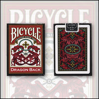 Bicycle Dragon Back Cards (Red) by USPCC - Got Magic?