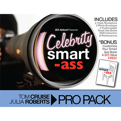 Celebrity Smart Ass Bundle (Tom Cruise and Julia Roberts) by Bill Abbott - Got Magic?