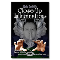 Close-Up Hallucinations by George Schindler - Book - Got Magic?