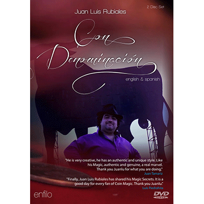 Con denominacion (With guarantee of origin) (2 DVD Set) by Juan Luis Rubiales - DVD - Got Magic?