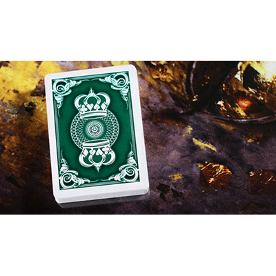 The Crown Deck (GREEN) from The Blue Crown - Got Magic?