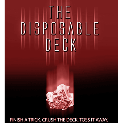 Disposable Deck 2.0 (red) by David Regal - Trick - Got Magic?