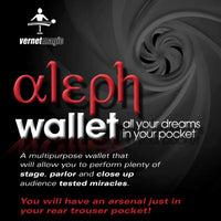 Aleph Wallet (Gimmick and Online Instructions) by Vernet Magic - Got Magic?