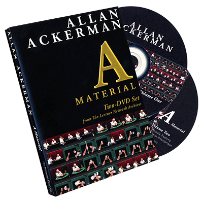 Allan Ackerman A Material (2 DVD Set) by The Miracle Factory - DVD - Got Magic?