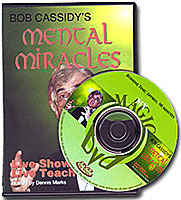 Mental Miracles Bob Cassidy, DVD - Got Magic?