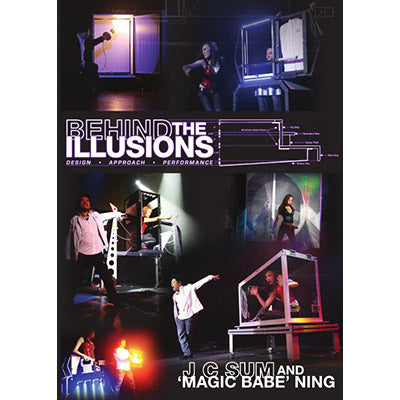 "Behind the Illusions by JC Sum & ""Magic Babe"" Ning - DVD - Got Magic?"
