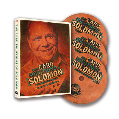 The Card Solutions of Solomon (3 DVD Set) by David Solomon & Big Blind Media - DVD - Got Magic?