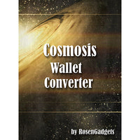 Cosmosis Wallet Converter (NO Wallet- Converter and DVD) by Rosengadgets - DVD - Got Magic?