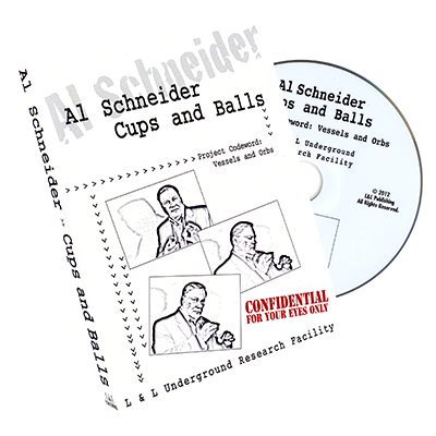 Al Schneider Cups & Balls by L&L Publishing - DVD - Got Magic?