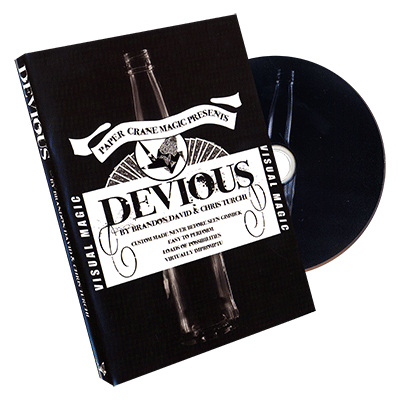 Devious  (Gimmick and DVD) by Brandon David, Chris Turchi, and Paper Crane - DVD - Got Magic?