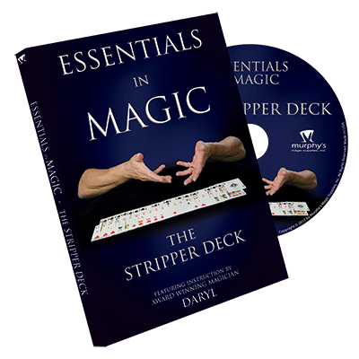 Essentials in Magic Stripper Deck - DVD - Got Magic?