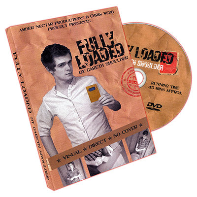 Fully Loaded (DVD and Props) by Gareth Shoulder - DVD - Got Magic?