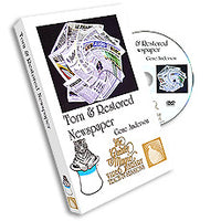 Torn & Restored Newspaper DVD by Gene Anderson Greater Magic, - Got Magic?