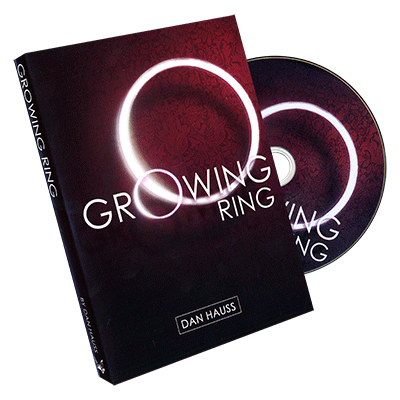 Growing Ring (props and DVD) by Dan Hauss and Paper Crane - DVD - Got Magic?