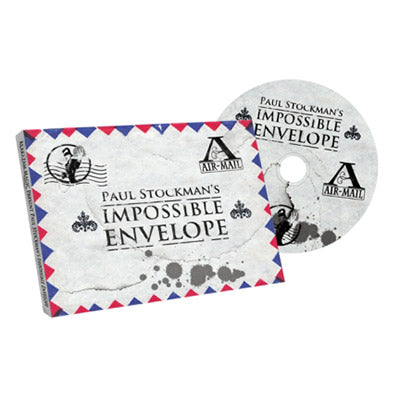 Impossible Envelope (Gimmick and DVD) by Paul Stockman and Alakazam Magic - DVD - Got Magic?