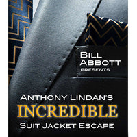 The Incredible Suit Jacket Escape (Routine, Script & DVD) by Anthony Lindan - Got Magic?