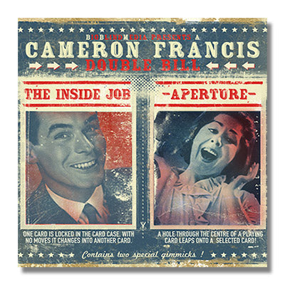 The Inside Job vs Aperture by Cameron Francis & Big Blind Media - DVD - Got Magic?