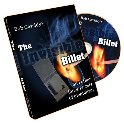 The Invisible Billet CD by  Bob Cassidy - DVD - Got Magic?