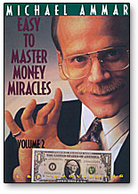 Money Miracles Ammar- #2, DVD by L&L Publishing - Got Magic?