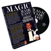 Johnny Thompson's Magic Made Easy by L&L Publishing - DVD - Got Magic?