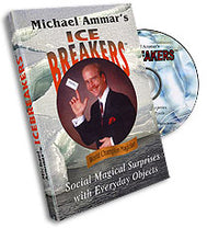 Ice Breakers (with Cards) by Michael Ammar - DVD - Got Magic?