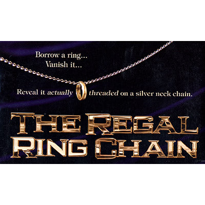 The Regal Ring Chain (DVD and Gimmick) by David Regal - DVD - Got Magic?