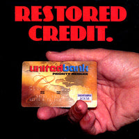 Restored Credit (DVD and Gimmick) by David Regal - DVD - Got Magic?