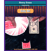 Risky Bet (Red) (US Currency, Gimmick and VCD) by Henry Evans - Got Magic?