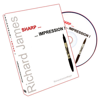 Sharp Impression (DVD and Gimmicks) by Richard James - DVD - Got Magic?