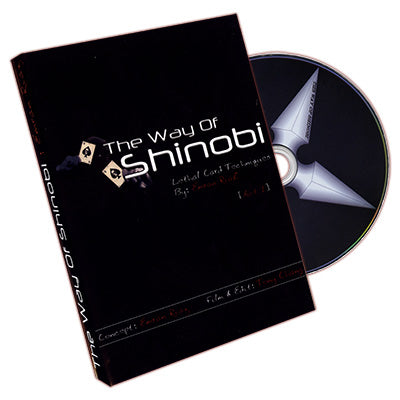 The Way Of Shinobi by Emran Riaz Featuring Tony Chang - DVD - Got Magic?
