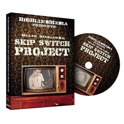 The Skip Switch by Ollie Mealing & Big Blind Media - DVD - Got Magic?
