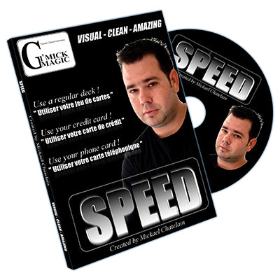 Speed (DVD and BLUE Bicycle Card) by Mickael Chatelain - DVD - Got Magic?