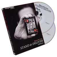 Stand and Deliver (2 DVD Set) by Shaun McCree - DVD - Got Magic?
