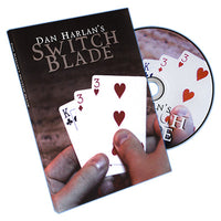 Switchblade (Blue Back Bicycle, Gimmick and DVD) by Dan Harlan - DVD - Got Magic?