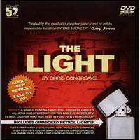 The Light(Prop and DVD) by Christopher Congreave and Dave Forrest - DVD - Got Magic?