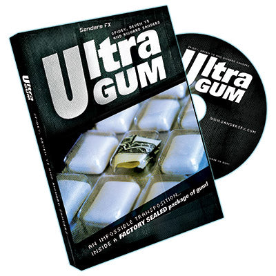 Ultra Gum by Richard Sanders - DVD - Got Magic?