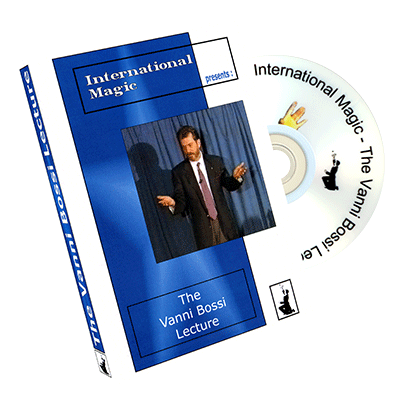 The Vanni Bossi Lecture by International Magic - DVD - Got Magic?