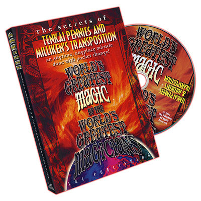Tenkai Pennies (World's Greatest Magic) - DVD - Got Magic?