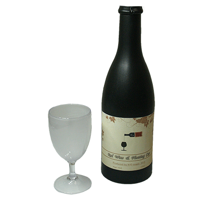 Electronic Airborne (Bottle and Stemmed Glass magnetic) - Trick - Got Magic?