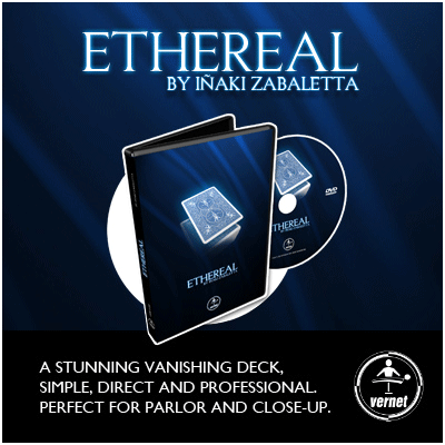 Ethereal Deck Red (Gimmick and Online Instructions) by Vernet - Trick - Got Magic?