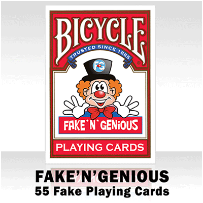 Fake 'N' Genious Deck by So Magic - Trick - Got Magic?
