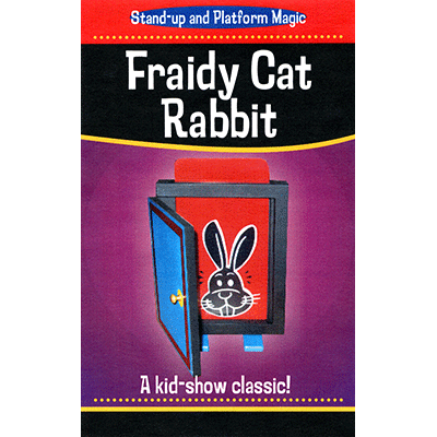 Fraidy Cat Rabbit (Clown) - Trick - Got Magic?