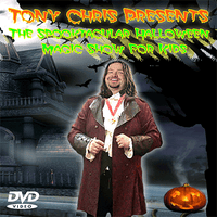 Halloween Show by Tony Chris - DVD - Got Magic?