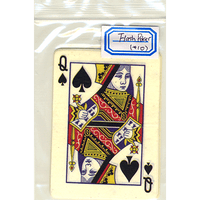 Flash Poker Card Queen of Spades (Ten Pack) - Trick - Got Magic?