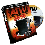 Instant ATW (Anything to Wallet) Wallet (Wallet and DVD) by RSVP - Got Magic?
