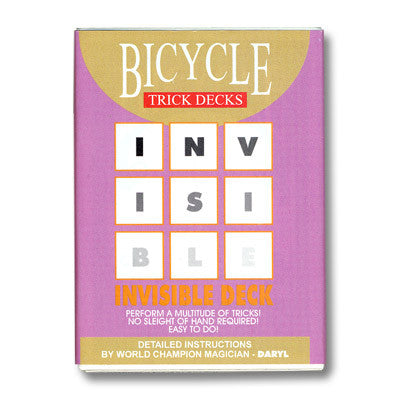 Bicycle Invisible Deck