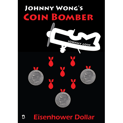 Coin Bomber EISENHOWER (with DVD) by Johnny Wong - Trick - Got Magic?